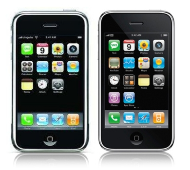 Detailed differences between iPhone 2G and 3G | iVitto Weblog
